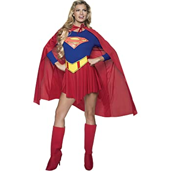 Rubbies - Disfraz de Superwoman para mujer, talla UK 12-14 (R15553 ...