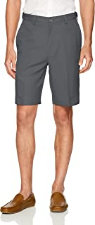Haggar Men's Cool 18 Pro Straight Fit Stretch Solid Flat...