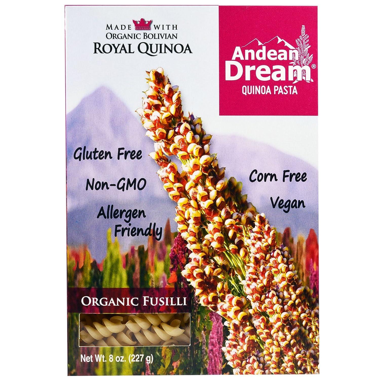 Andean Dream Quinoa Pasta Organic 227 8 Fusilli Department store g oz Online limited product