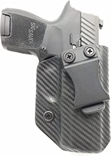 Sunsmith Holster - Compatible with Sig Sauer P320 Sub Compact Kydex IWB Concealed Carry Holster Made in USA by Fast Draw USA