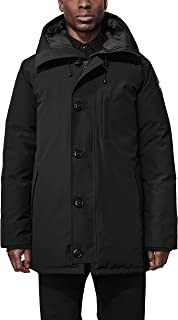 Canada Goose Men's Chateau Parka No Fur (Black, 2X)