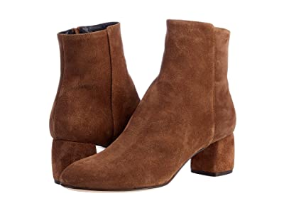 AGL Suede Ankle Boot (Cognac) Women