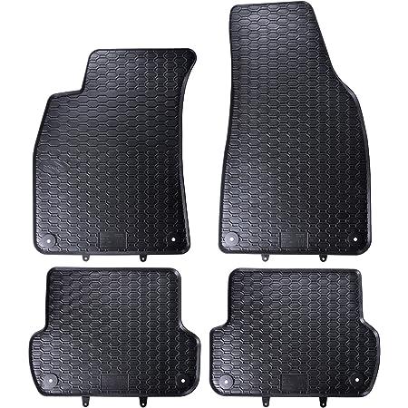 Fußmatten Passend Für A4 S4 Rs4 B6 B7 Premium Qualität Autoteppiche Velours Anthrazit 2 Teilig Auto