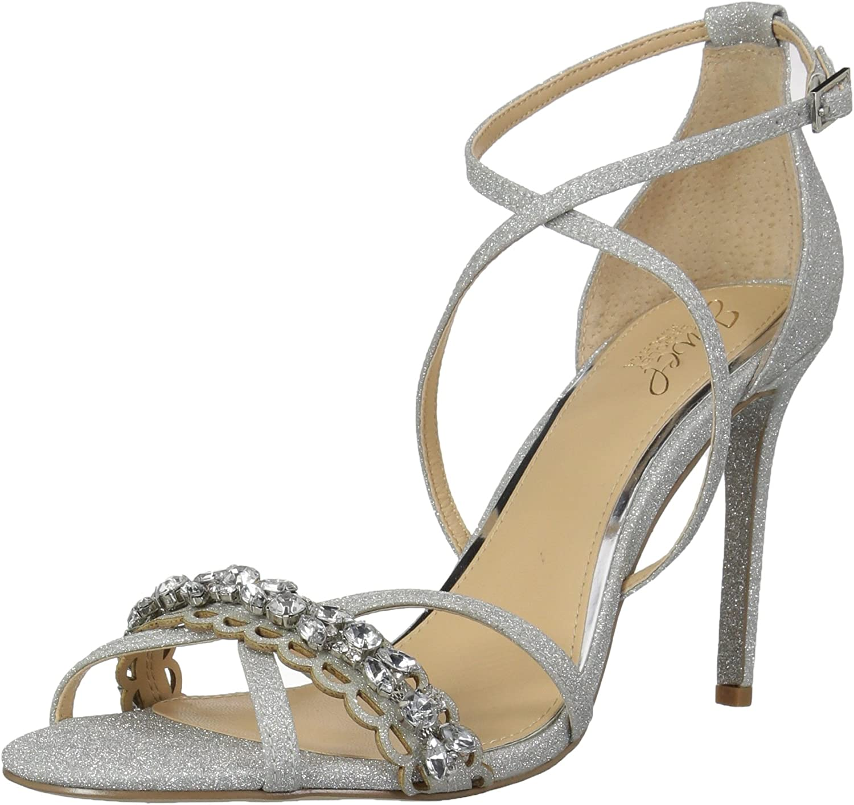 Badgley Mischka Womens Gisele Heeled Sandal