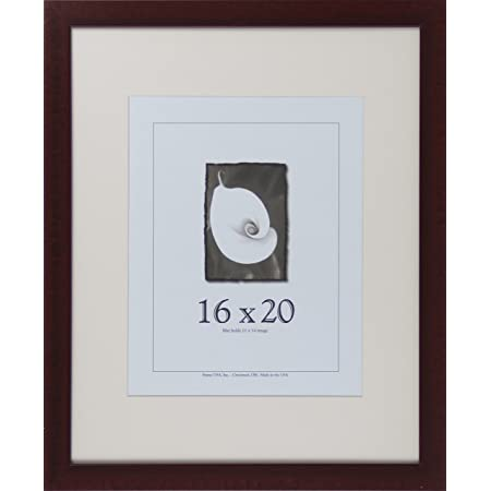 Frame Mahogany 20x28 Picture Frame For Our 16 x 24 Prints Mahogany Picture Frame Complete Framing Package 20x28 Frame Mahogany Frame