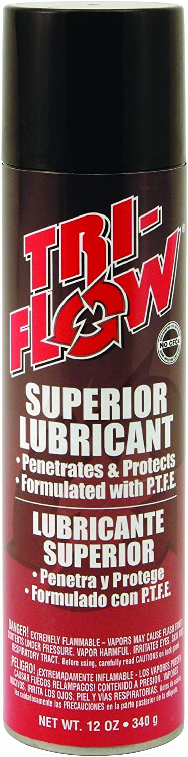 Tri-Flow TF20006 Ranking TOP10 Same day shipping Superior Aerosol Lubricant 12-Ounce