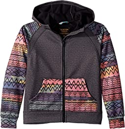 Scoop Full Zip Hoodie (Little Kids/Big Kids)