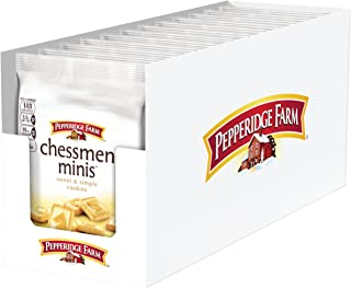 Pepperidge Farm, Chessmen, Cookies, Mini, 2.25 oz., Bag, 8-count