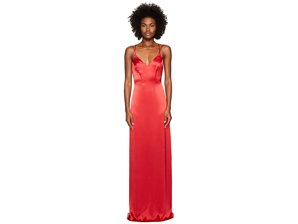 ZAC Zac Posen Noel Gown (Crimson) Women