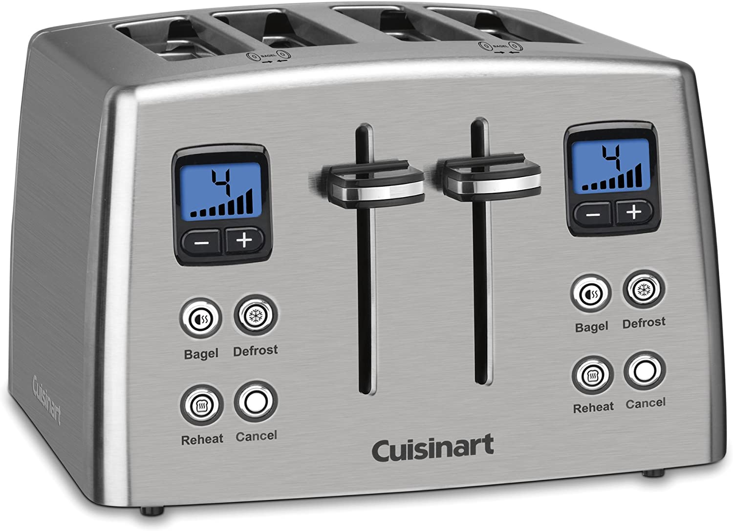 Cuisinart CPT-435 Countdown 4-Slice Stainless Steel Toaster