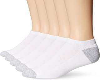 Hanes Mens White Ultimate FreshIQ X-Temp No Show Socks (Shoe Size 6-12)