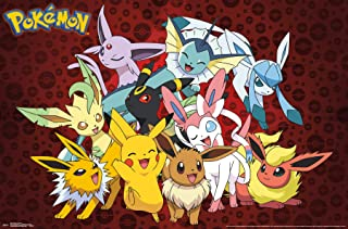 Trends International Pokémon-Favorites Clip Wall Poster, 22.375