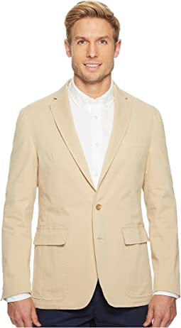 Garment Dyed Cotton Stretch Sportcoat