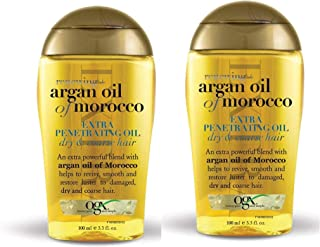 Renewing Argan Oil Of Morocco Extra Strength Penetrating Oil Dry, Coarse Hair - 2 pack