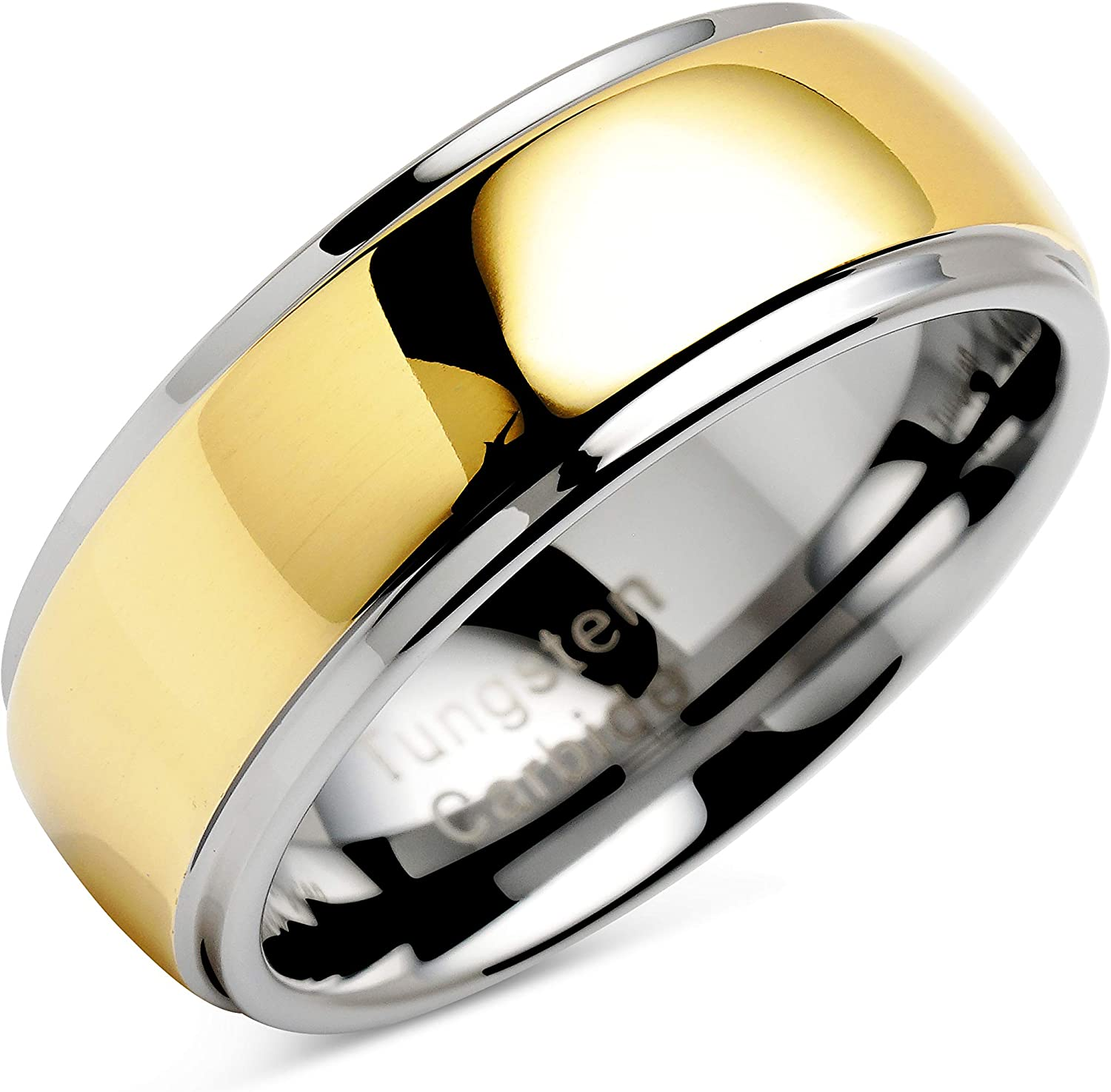 100S Ranking TOP9 Discount is also underway JEWELRY Engraved Personalized Tungsten Men Rings Women For