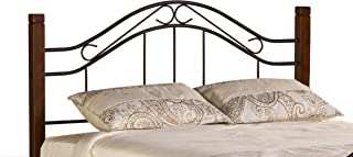 Hillsdale Furniture 1159HFQ Matson Headboard, Full/Queen, Cherry/Black