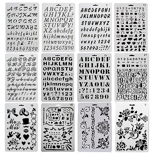 Stencil Letters Amazoncouk