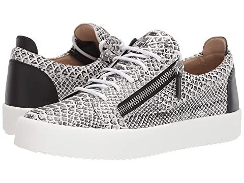 Giuseppe Zanotti May London Textured Low Top Sneaker