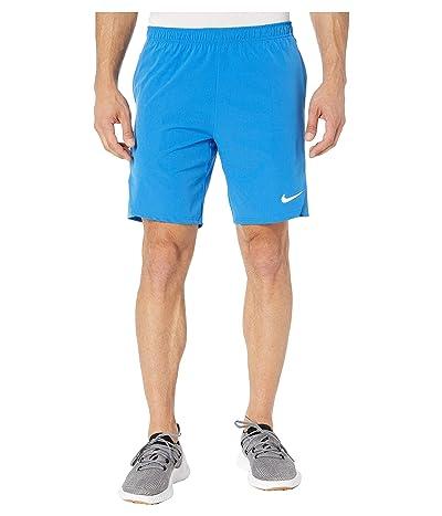 Nike Court Flex Ace 9 Tennis Short (Signal Blue/Signal Blue/White) Men