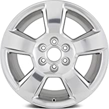 Partsynergy Replacement For OEM Take-Off Aluminum Alloy Wheel Rim 20 Inch Fits 14-18 Chevrolet Silverado 1500 6-139.7mm 5 Spokes