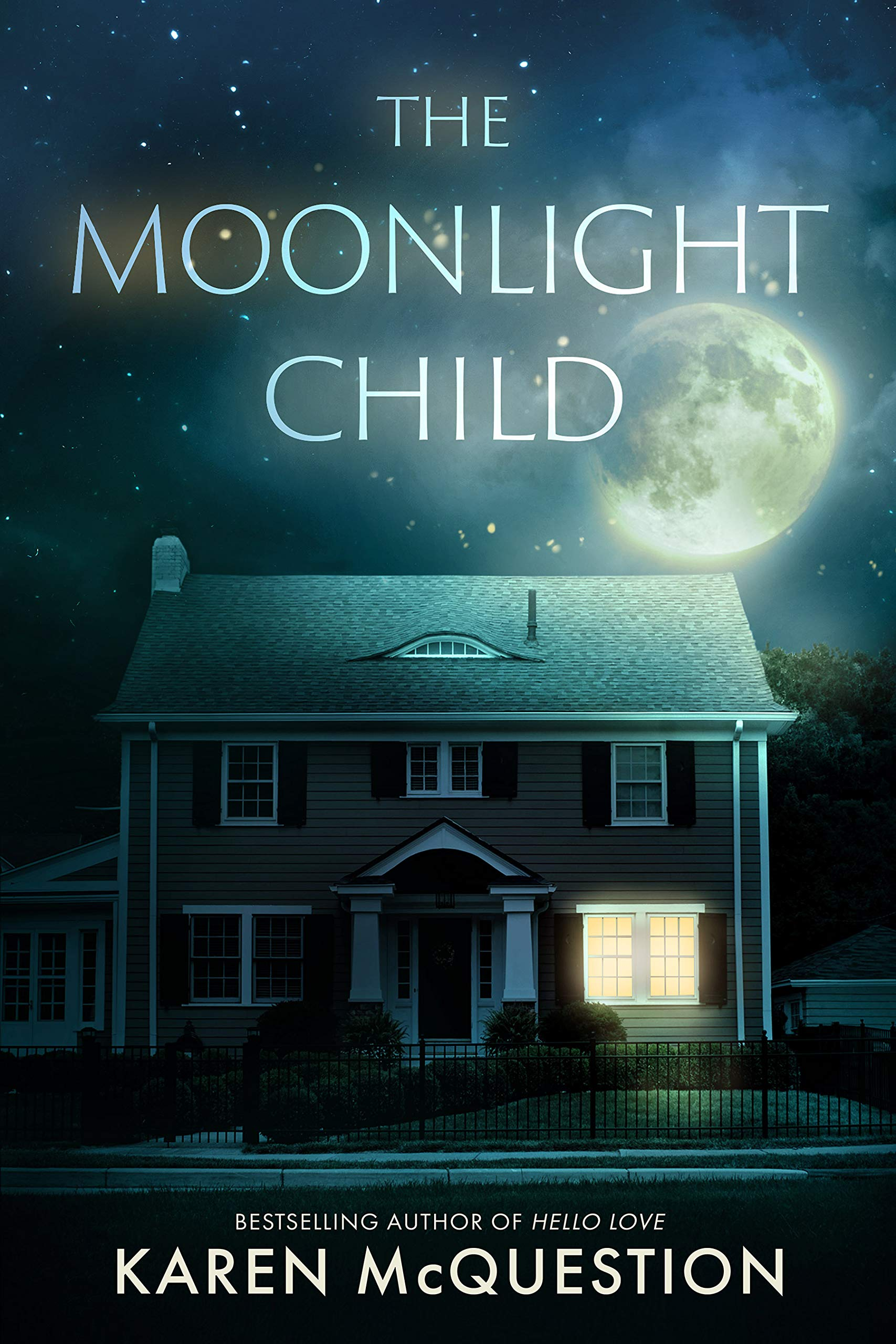 Cover image of The Moonlight Child by Karen McQuestion