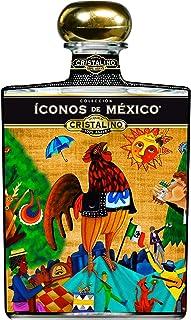 Tequila Íconos de México AÑEJO Cristalino 700ml Edición: Lotería Mexicana