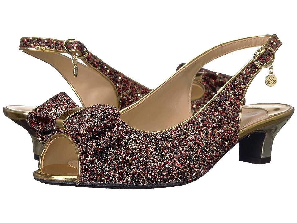 J. Renee Landan (Burgundy) High Heels