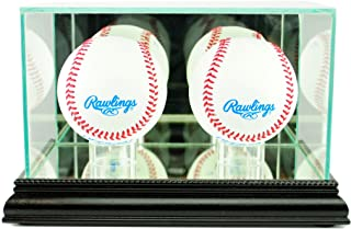 Perfect Cases MLB Double Baseball Glass Display Case