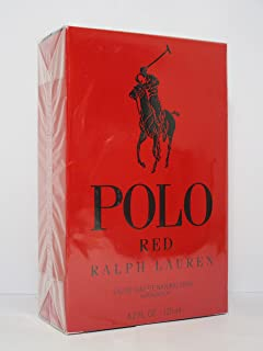 Polo Red By Ralph Lauren 4.2 oz Eau De Toilette Spray for Men