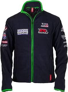 Pilot Motosport Men's GEICO Suzuki Team Jacket (Blue, Large)