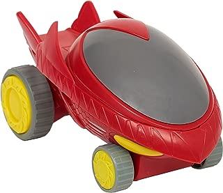 Just Play PJMask Rev N Rumblers Owl Glider Vehicle, Red