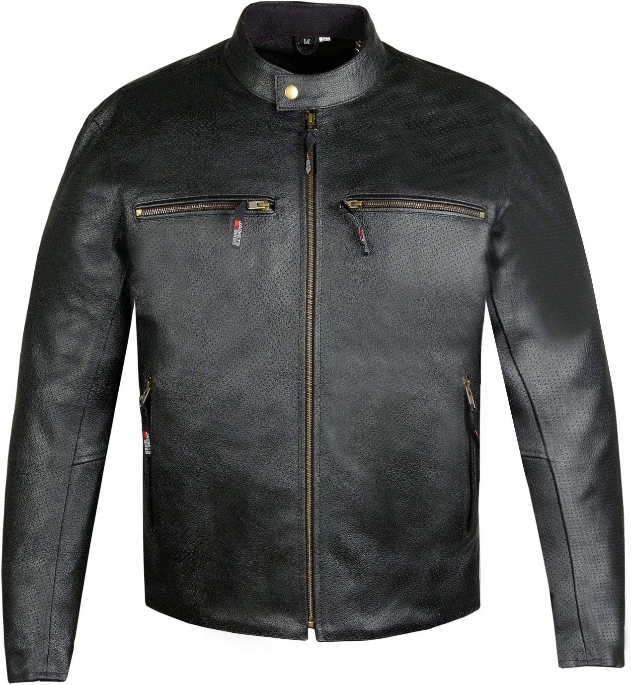 Max 87% OFF Bombing free shipping Men's Infinity Airflow Perforated Leather Motorcycle CE Bi Armor