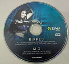 Zumba Fitness Ripped+Mix DVD WITH 1LB. Toning Sticks