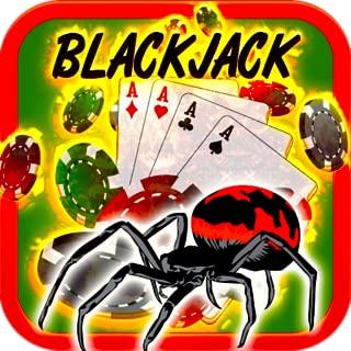 Spider Blackjack 21 Free Danger Arachnid Fire Drop Blackjack Blackjack Free Games Casino Cards Games for Kindle Blackjack Trainer Stars Vegas Card Tricks