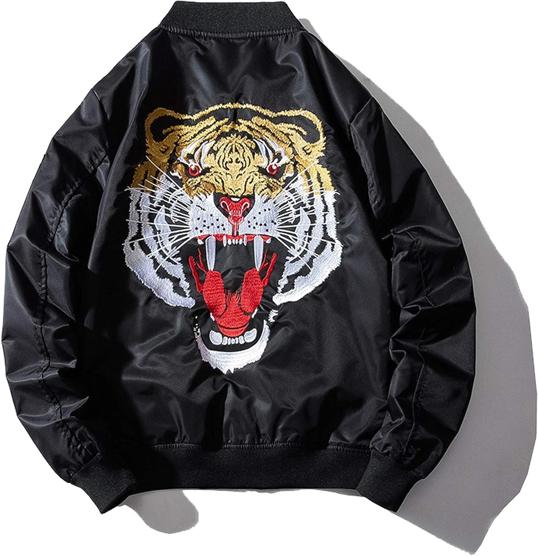 XYXIONGMAO Japanese Tiger Men'S Hip-Hop Clothing Couple Streetwear Oversized Men Bomber Jacket Bomber Jacket