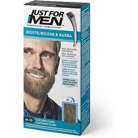 Just For Men Just For Men Tinte Colorante En Gel Para Barba Y Bigote - Castaño Claro (Formula Mejorada). M-25