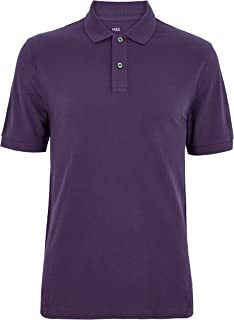 Marks & Spencer Men's Pure Cotton Pique Polo Shirt