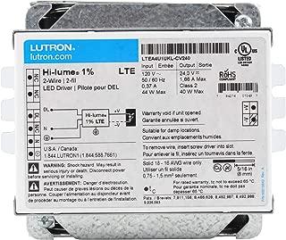 Lutron LTEA4U1UKL-CV240 Hi-Lume A-Series Constant Voltage Driver 120 Volt AC Input 5-40W Output White