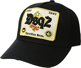 DSQUARED2 Mens Beer Label Baseball Cap