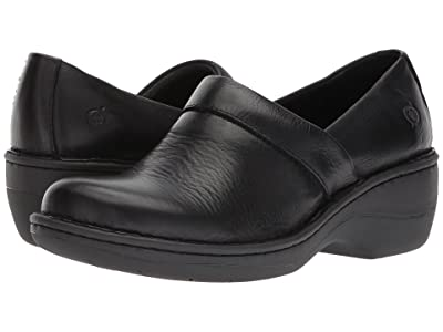 Born Toby Duo (Black Full Grain Leather) Women