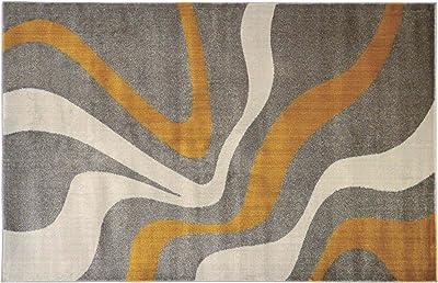 Homemania Water Colors 1 Tapis Fait à la Machine Impression Multicolore 80 x 150 cm