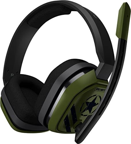 ASTRO Gaming A10 Casque Gamer, Edition Call of Duty, Léger et Résistant, ASTRO Audio, Dolby ATMOS, 3,5 mm Audio Jack,...