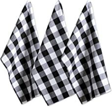 DII Cotton Buffalo Check Table Runner for Family Dinners or Gatherings, Indoor or Outdoor Parties, & Everyday Use, 100% Co...