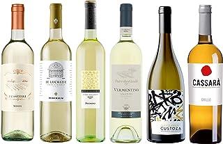 Wein-Probierpaket Weißweinreise durch Italien 6 x 0,75 l Wein-Tasting-Set