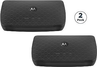 Best MOTOROLA MoCA Adapter for Ethernet Over Coax 2-Pack, 1,000 Mbps Bonded 2.0 MoCA (Model MM1002) Review
