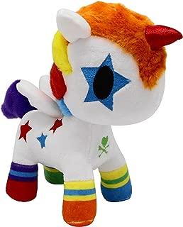 TokiDoki Bowie Unicorno Basic Plush, Multicolor, Small