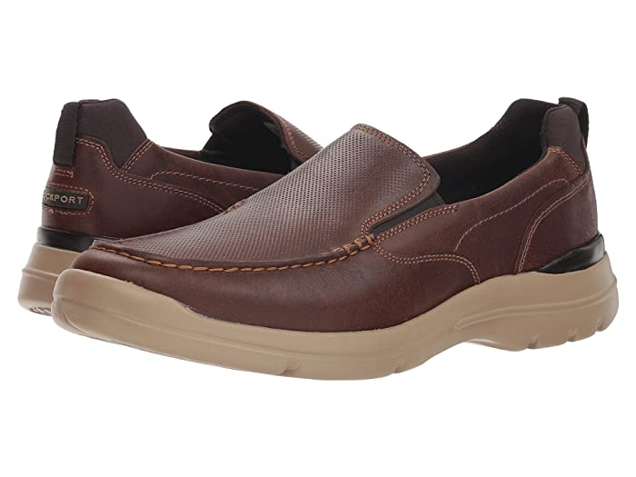 Rockport  City Edge Slip-On (Boston Tan Leather) Mens Shoes