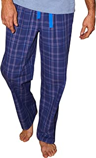 Savile Row Men's Pyjama Bottoms - Cotton/Mixed Classic Casual Soft Trousers Lounge Pants Loungewear Nightwear Sleepwear fo...