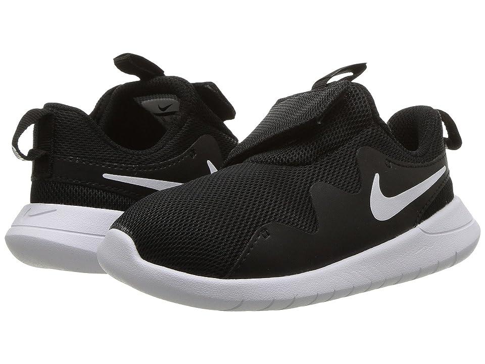 Nike Kids Tessen (Infant/Toddler) (Black/White/White) Boys Shoes