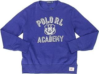 Men's Academy Crew Neck Yale Fleece Lined Sweatshirt